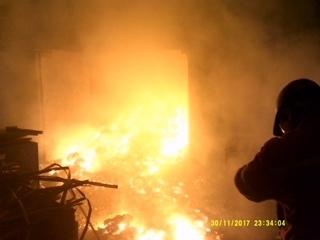 Zdolán další požár
