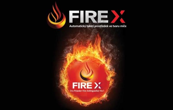 Novinka: FIRE X - Automatický hasicí prostředek ve tvaru míče