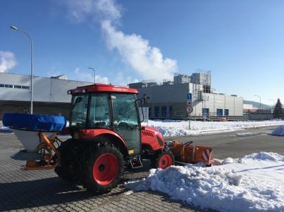 Zimní údržba NOKIKA s.r.o.