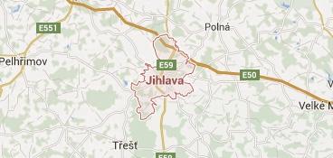 Mapa - pokrytí bezpečnostní agentura Brno